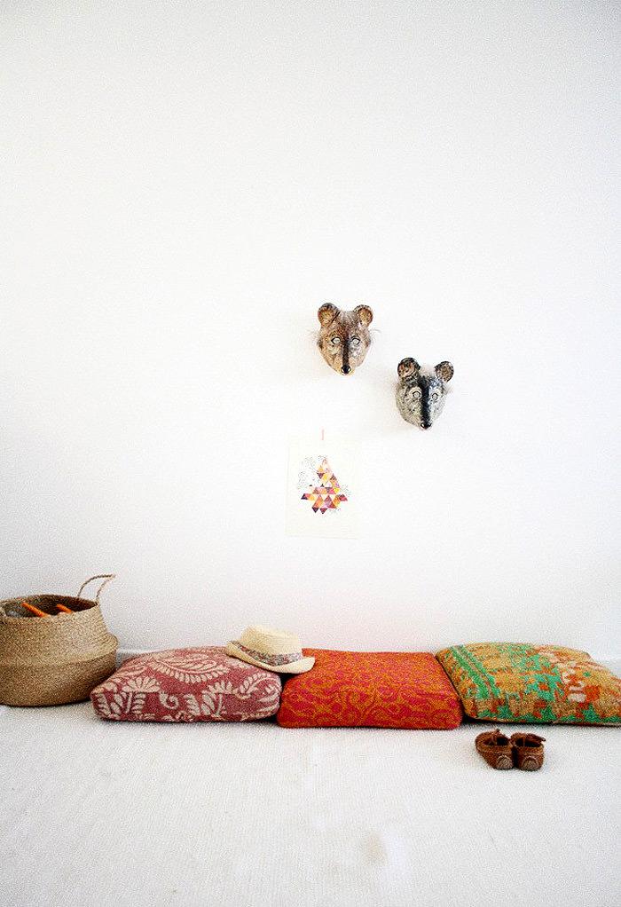 Floor Pillows From Les Petites Bohemes
