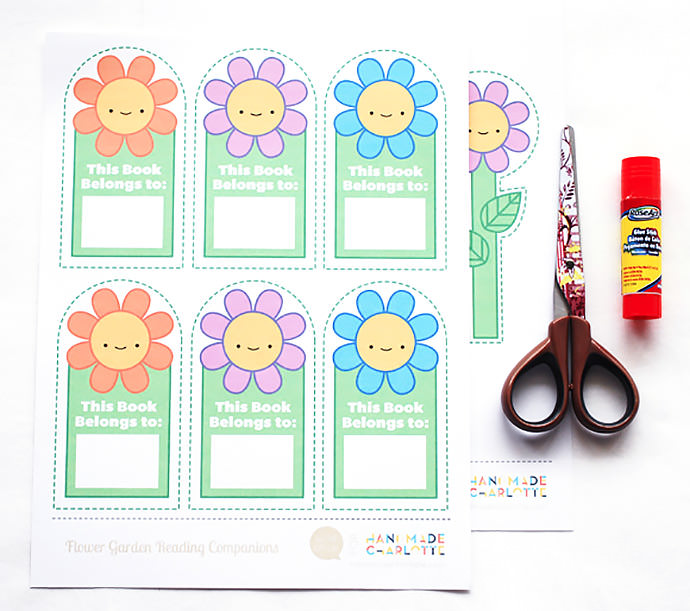 Printable Happy Flower Reading Companions