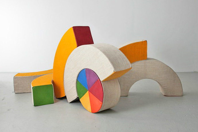 Play Sculpture by Renate Muller
