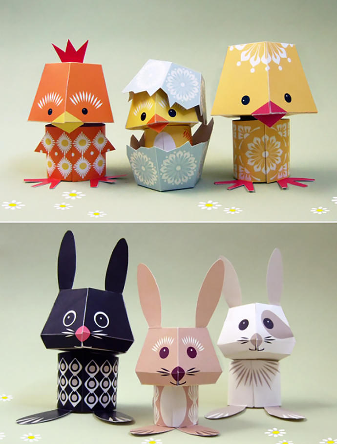 Photo Am likewise Spring Activities For Kids To Make This Easter besides Printable Easter Crafts further Petite Purse Printed Template as well Ae F B Fdfd F Baf. on printable easter egg paper toy for kids