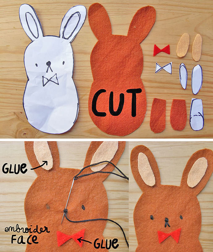 DIY Easter Bunny Pocket Tee