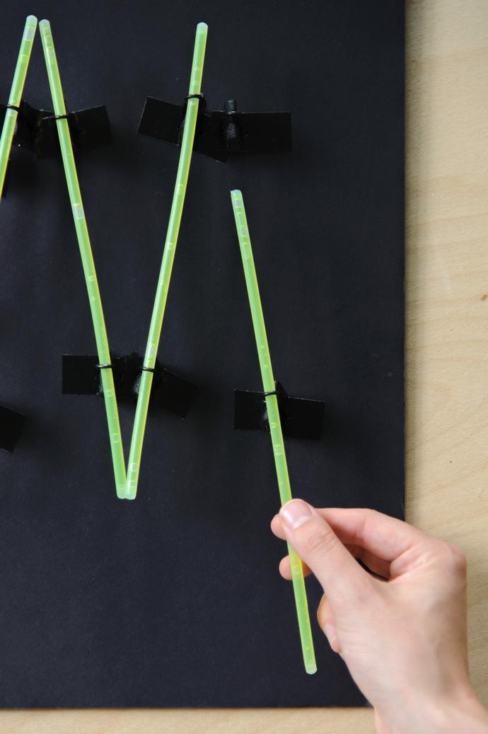 Make A Neon Sign With Glow Sticks ⋆ Handmade Charlotte