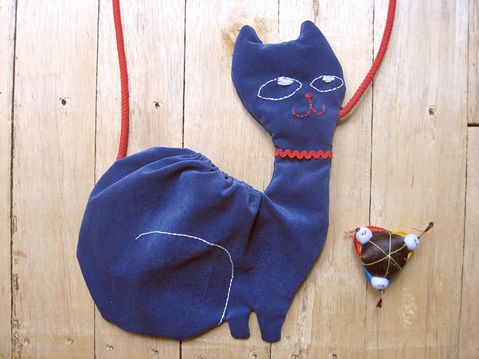 DIY Kitty Bag