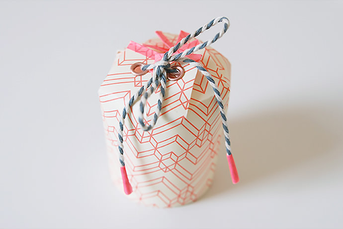 DIY Paper Cup Gift Boxes