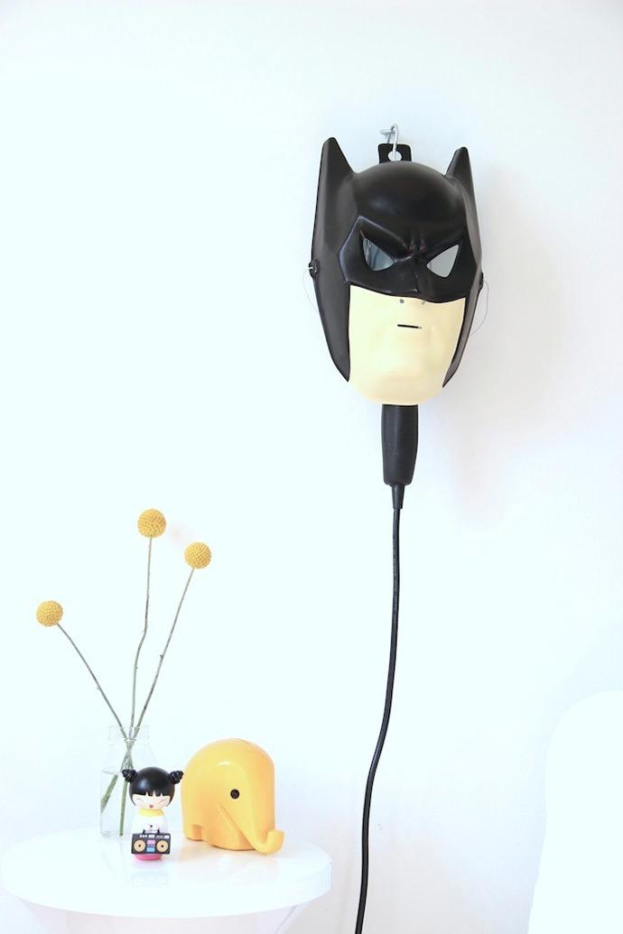 DIY Batman Bedside Lamp
