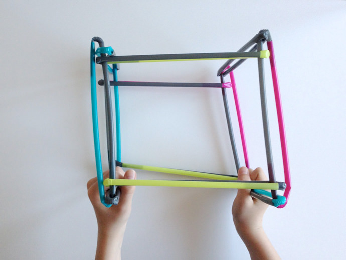 DIY Straw Play Structures
