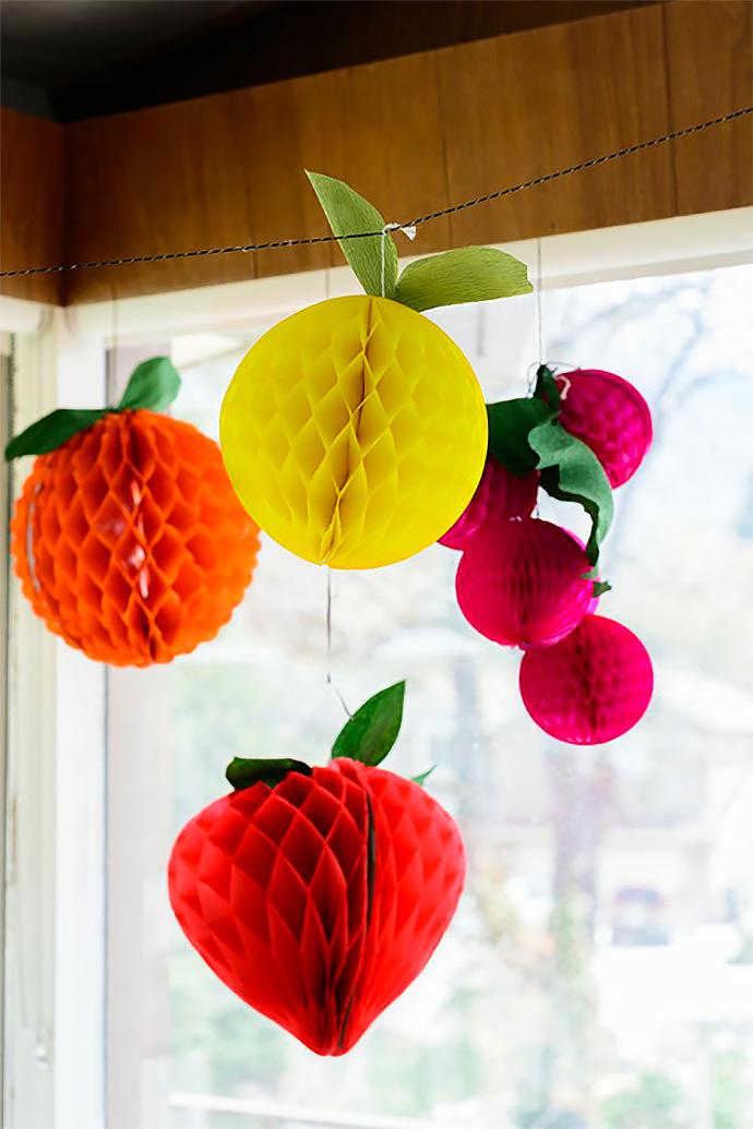 DIY Fruit Tissue Balls via The House That Lars Built