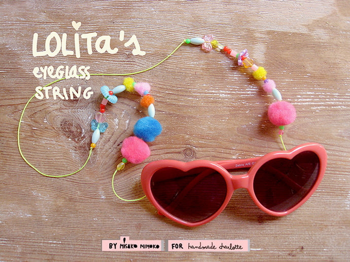 DIY Lolita's Eyeglass String Necklace ⋆ Handmade Charlotte