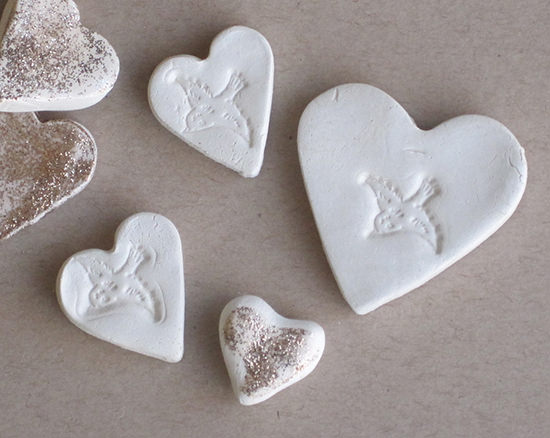 Air Dry Clay Love Tokens