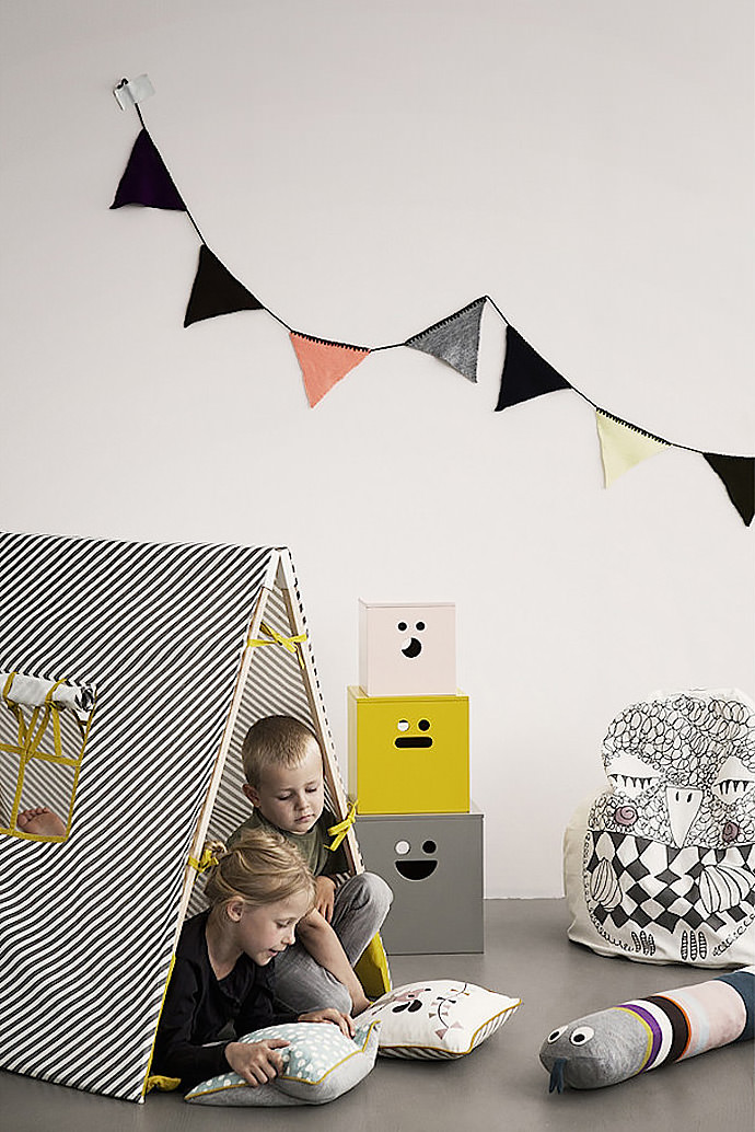 play tipi / tent available from ferm living