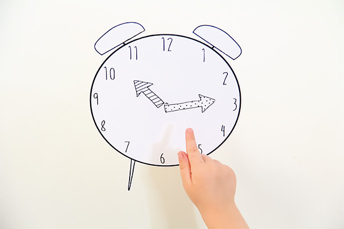 Free Printable Magnetic Play Clock