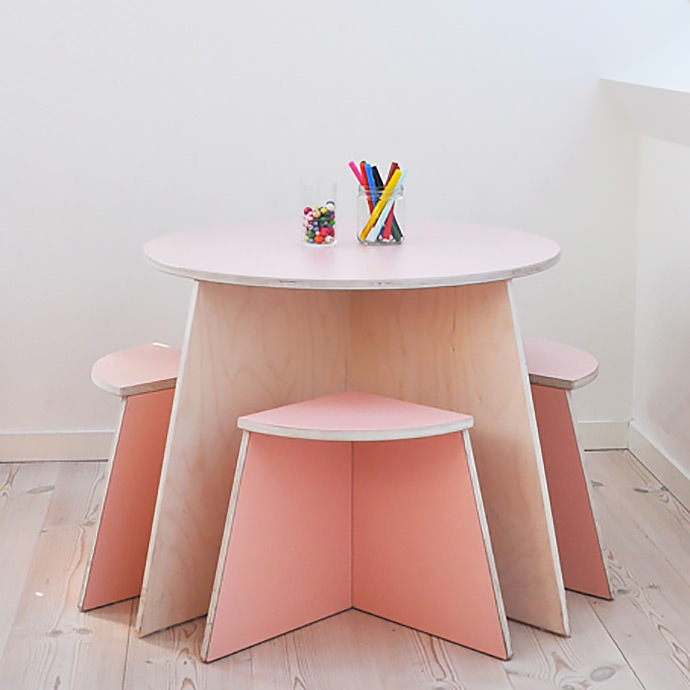 Cirkel Table and Stools (Available from Small Design)