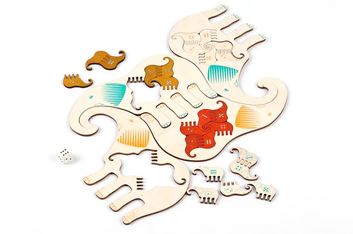 Pipik Plywood Elephant Puzzle (available from Estonian Design House)