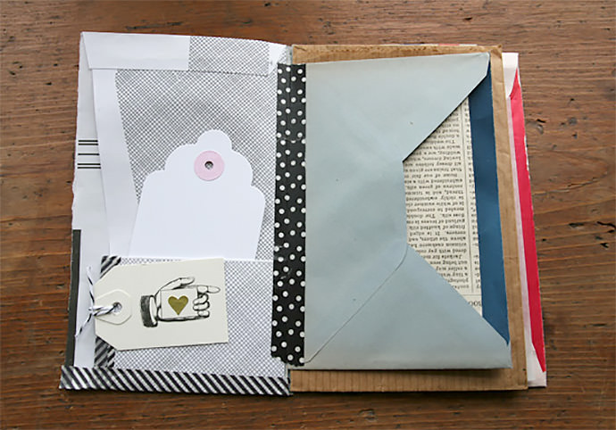 diy envelopes for pen pals