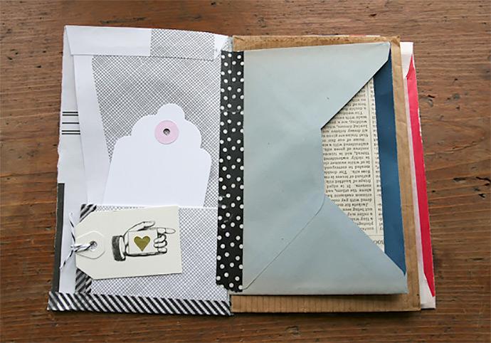 DIY Souvenir Journal via Besottment