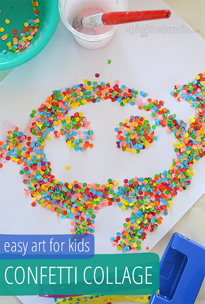 Diy collage projects handmade charlotte - Different craft ideas for kids ...
