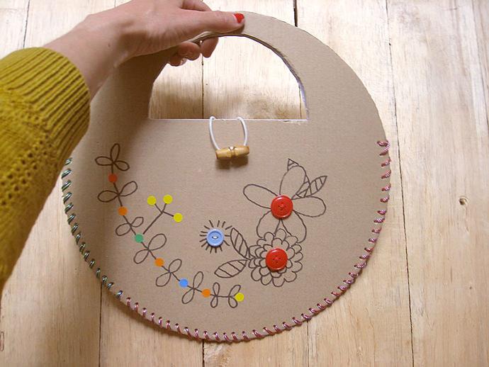 Recycled Cardboard Handbag