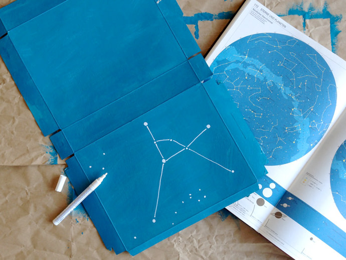 DIY Constellation Lightbox