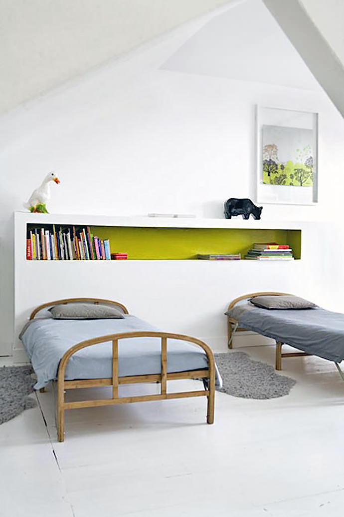 Custom Made Beds Image Gallery: Gorgeous Shared Rooms For Kids
