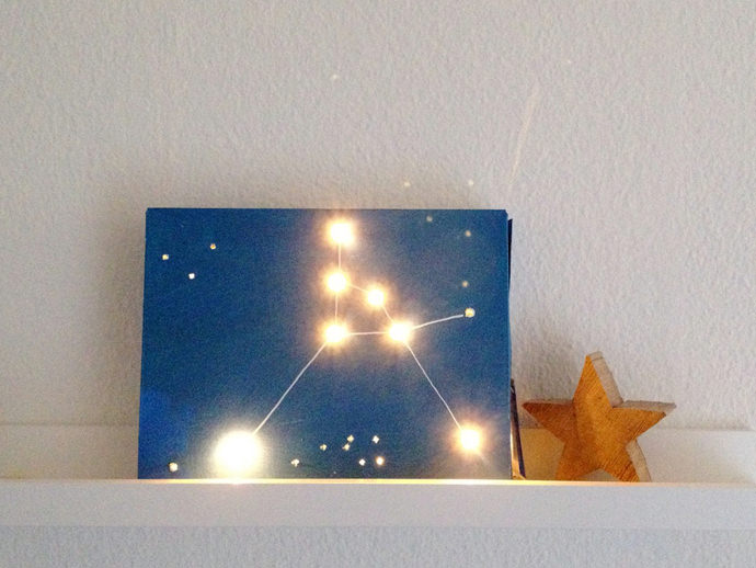 Diy Constellation Light Box Handmade Charlotte