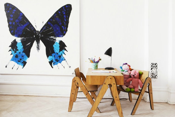Simon Birch Butterfly Prints
