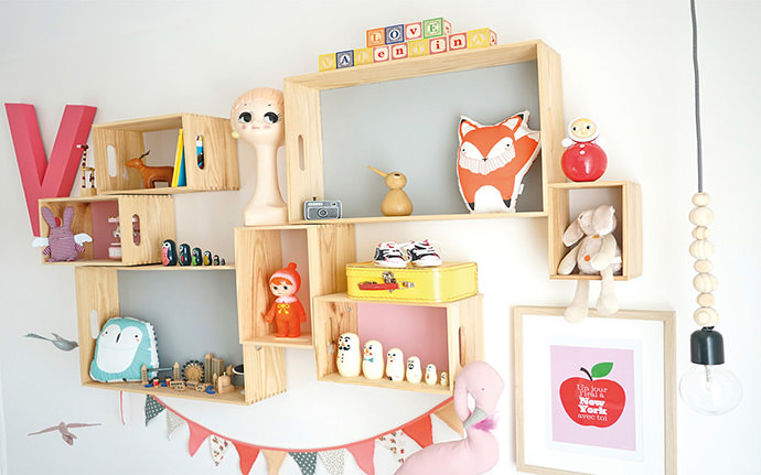 DIY Modular Shelves