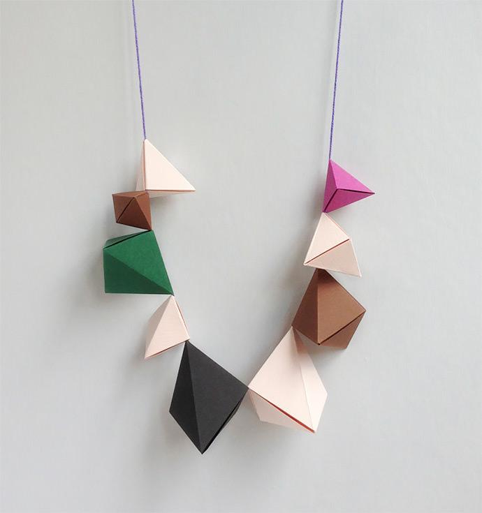 DIY Paper Jewelry ⋆ Handmade Charlotte