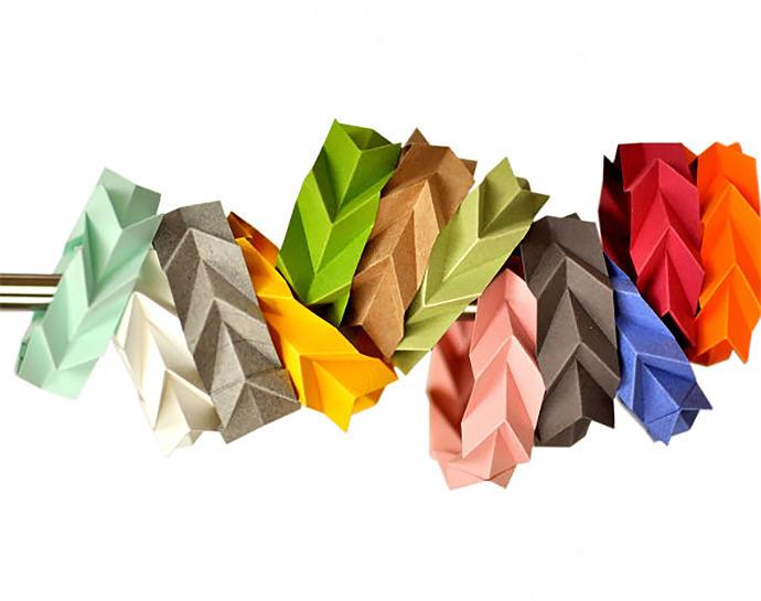 DIY Paper Bracelets By Fiber Lab
