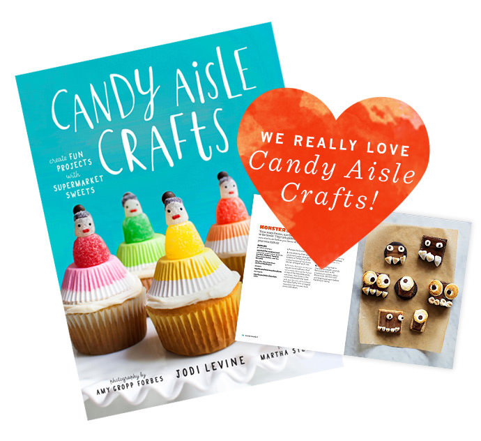 Candy Aisle Crafts by Jodi Levine