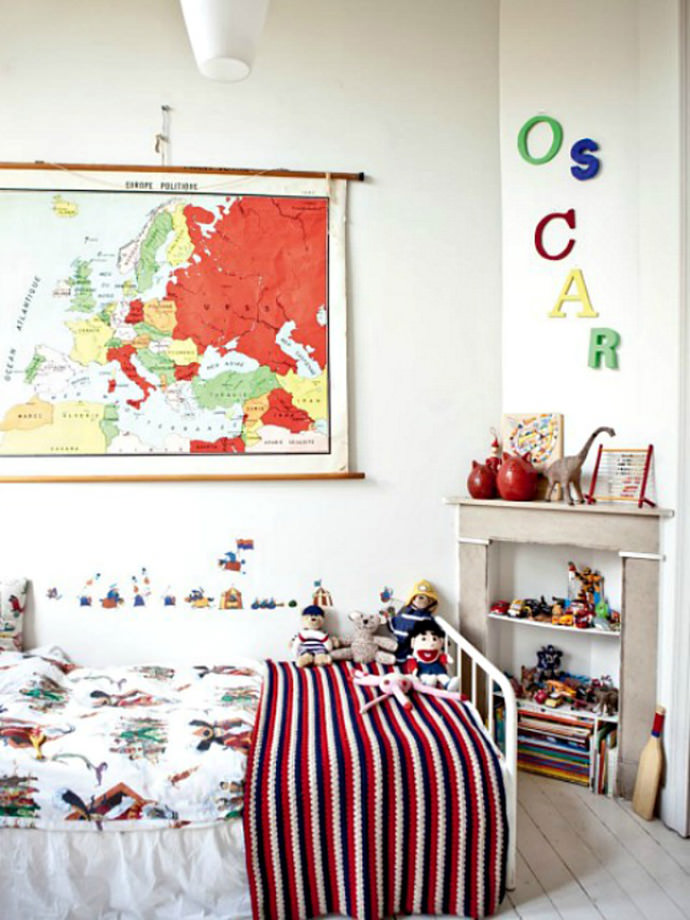 Oscar's Room via Milk Magazine