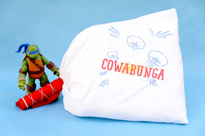 DIY Teenage Mutant Ninja Turtles Pillow Fight