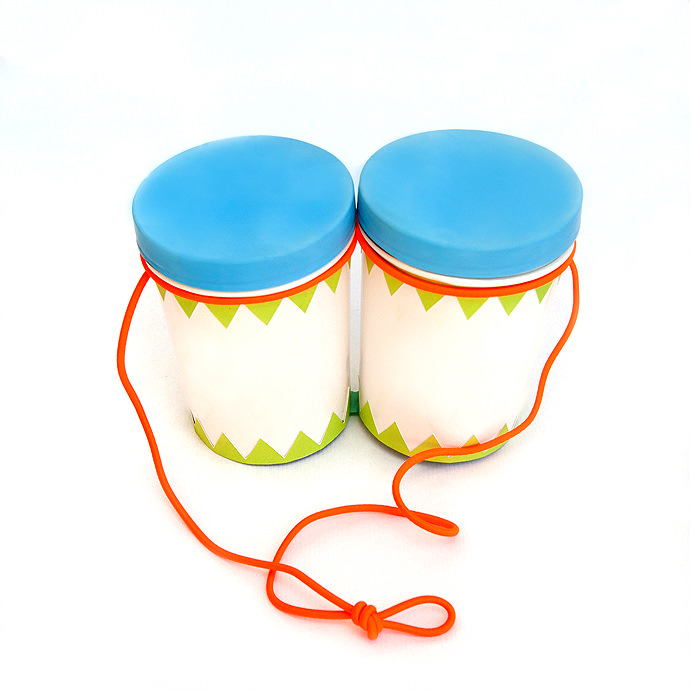 DIY Musical Instruments for Kids: Bongos