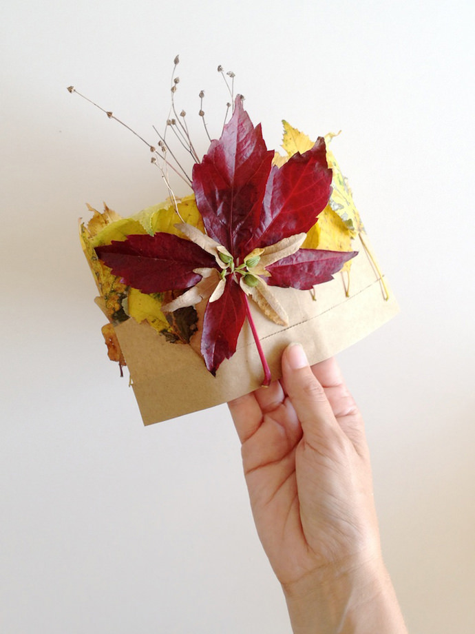 DIY Autumn Leaf Crown for Kids