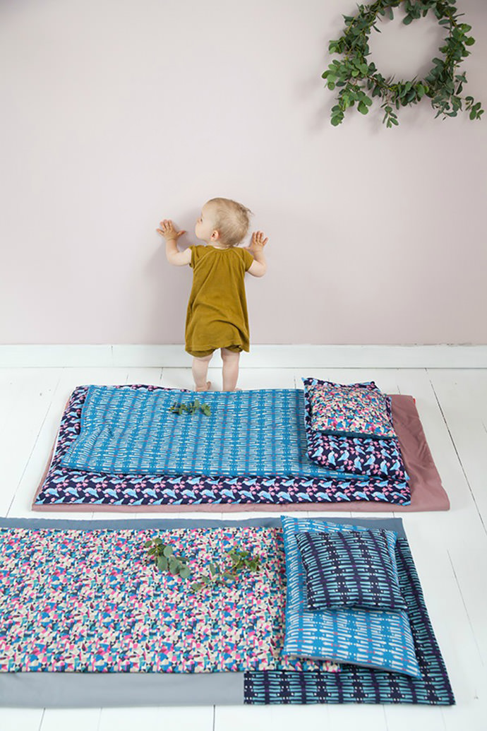 Adeline Affre's Bedding for kids