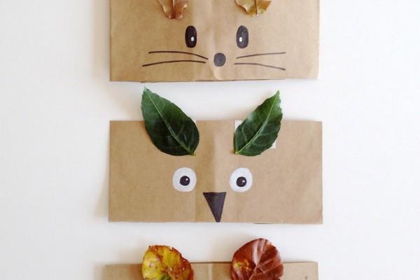 DIY Autumn Animal Headbands