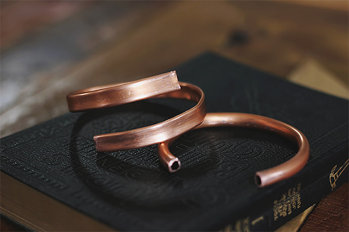 DIY Jewelry: Copper Cuffs