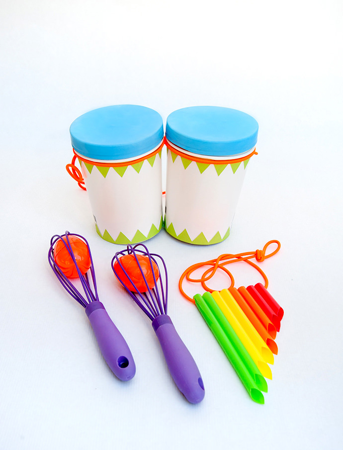 Attractive Craft Ideas For Kids-musical Instruments Part - 10: DIY Musical Instruments For Kids