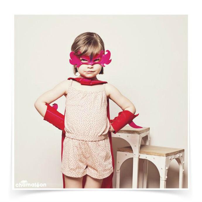 Super Fillette Costume from Chamaléon