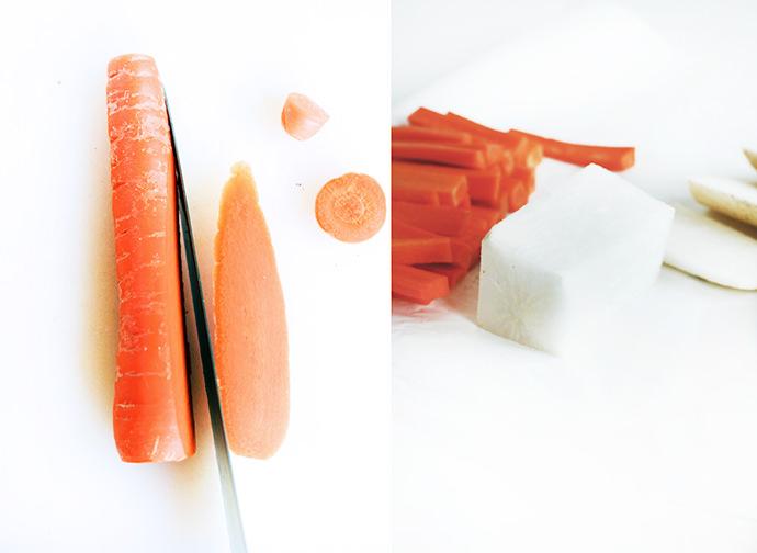 DIY Vegetable Jenga