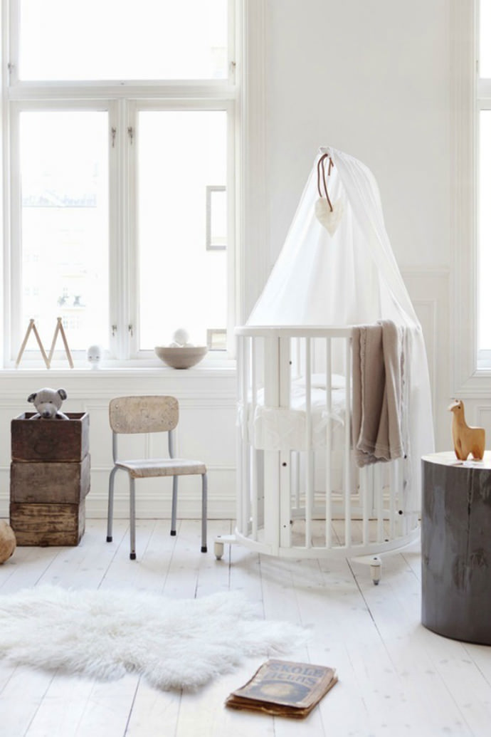 Nursery via Stokke