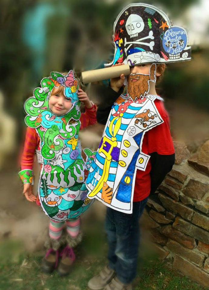 Fantastical halloween costumes for kids handmade charlotte color in fancy dress costumes from eggnog solutioingenieria