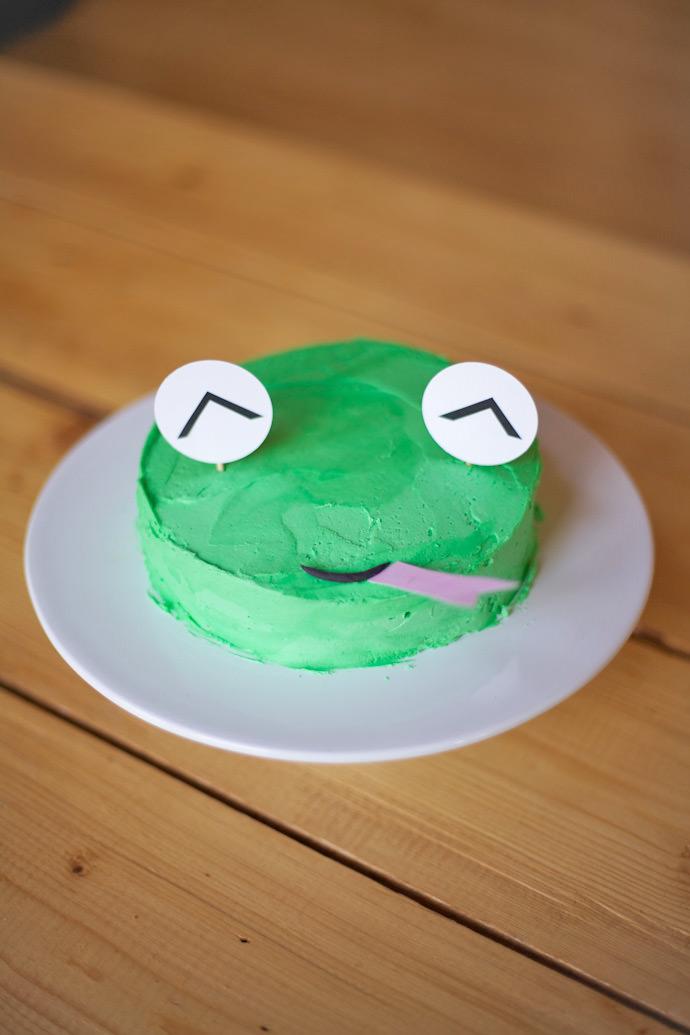 Frog Cake Recipe