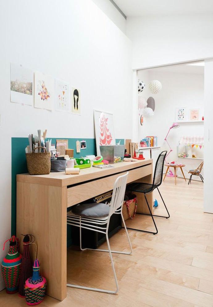 shared Desk from Caroline Gomez via Julien Fernandez