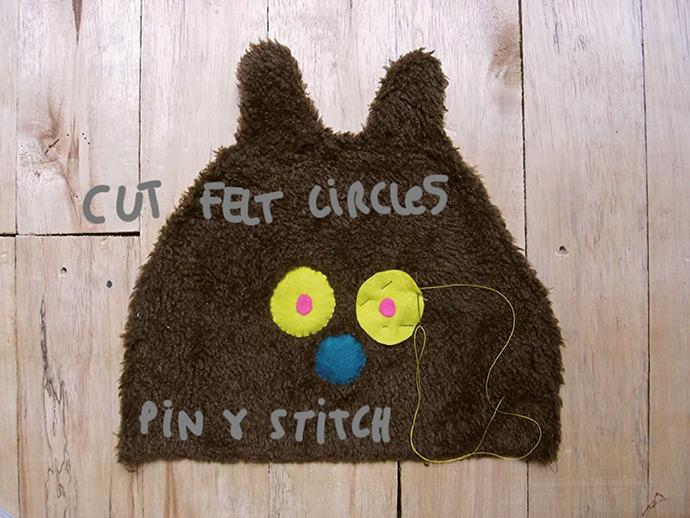 DIY Secret Fuzzy Bear Pocket
