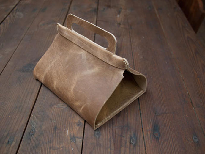 Leather Lunch Tote from Design*Sponge