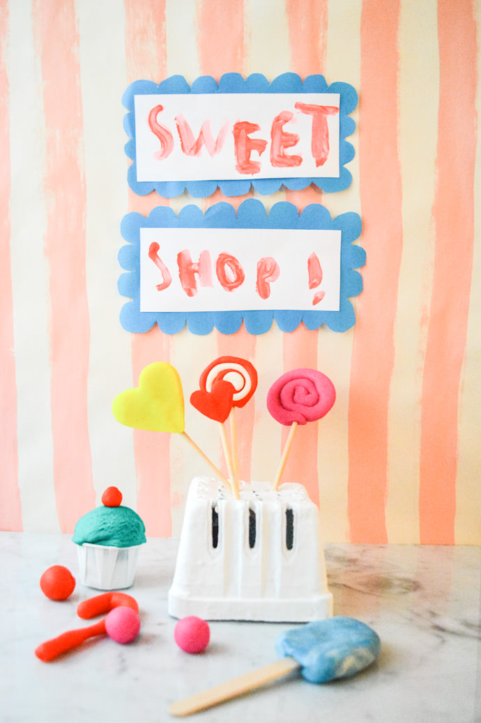 DIY Play Clay Sweet Shop