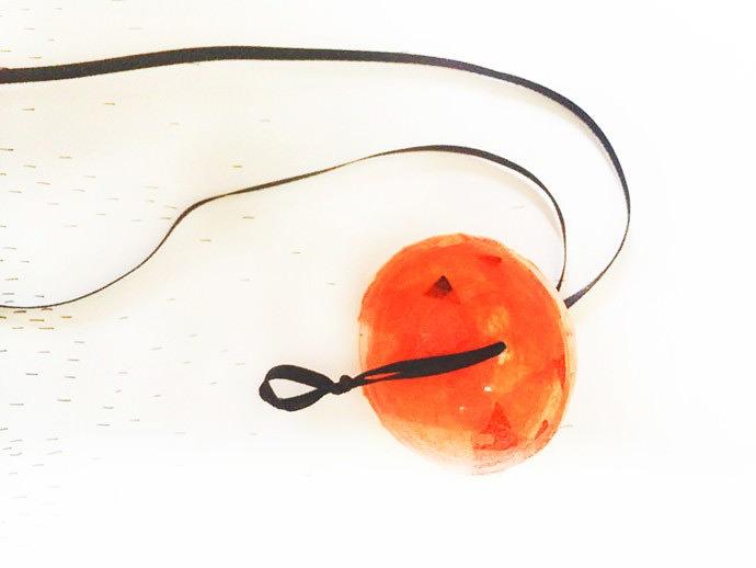 Halloween Pumpkin Light Necklaces