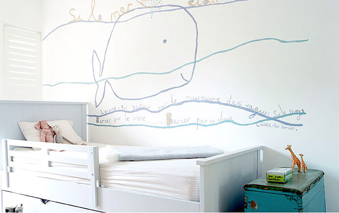 Playful murals for kids 39 rooms handmade charlotte for Children s wall mural