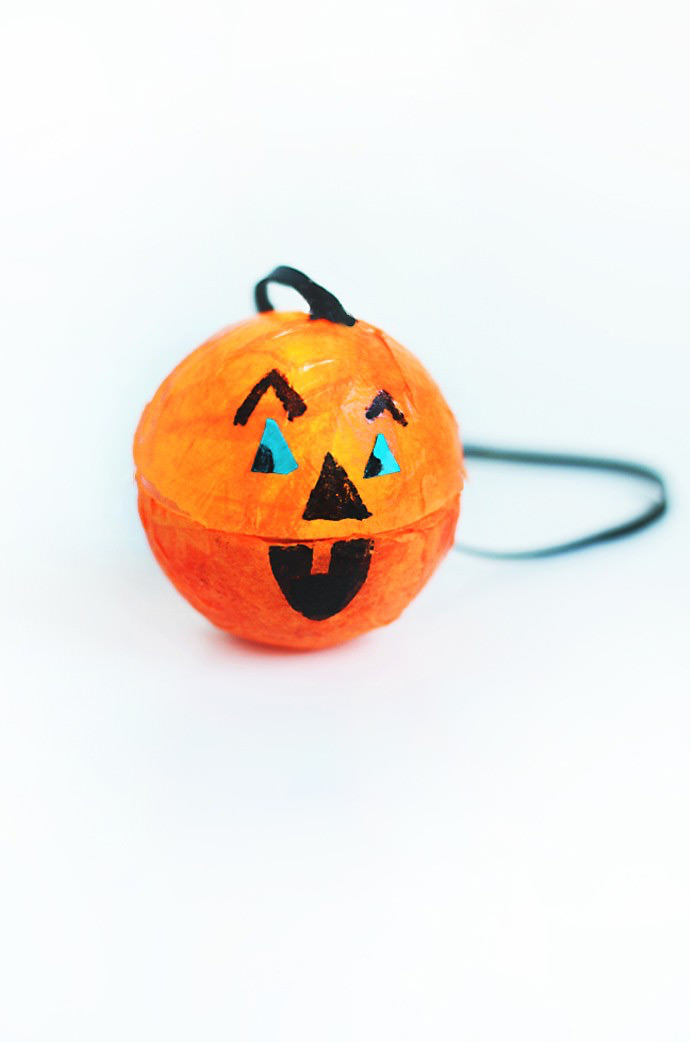 Halloween Pumpkin Light Necklaces