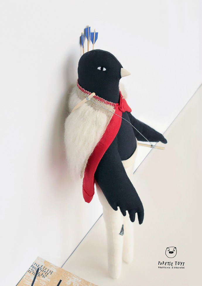 Popetse's latest Robin plush collection is adorable